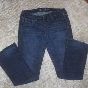 American Eagle Stretch Skinny Kick Jeans 14